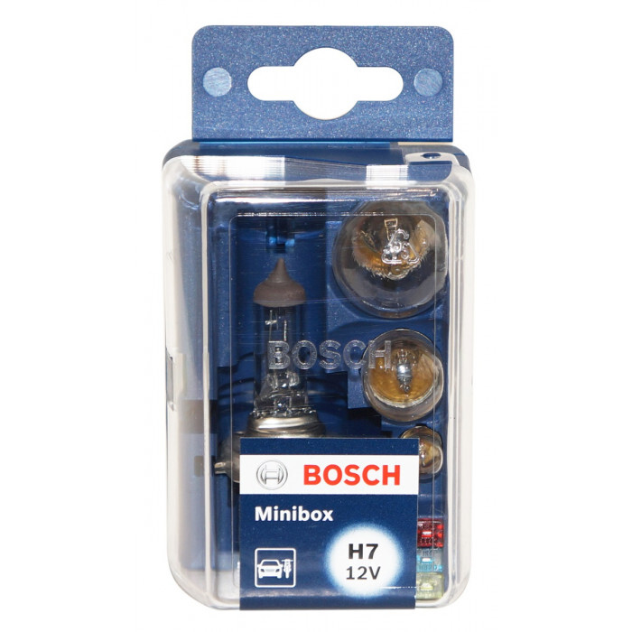 Комплект крушки Bosch Minibox H7