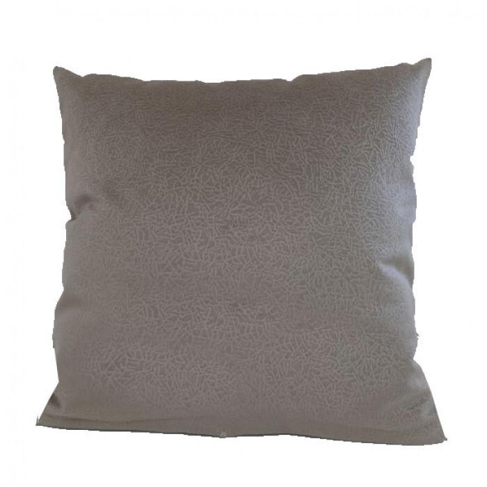 Декоративна възглавница Алмира 45х45см / тъмнобежова