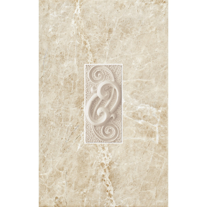 Декоративни плочки Cersanit Piedra Beige Inserto 25х40
