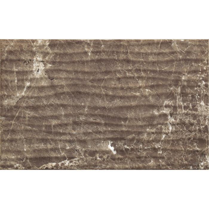 Стенна плочка Cersanit Piedra PS202 Brown Structure 25х40 G1