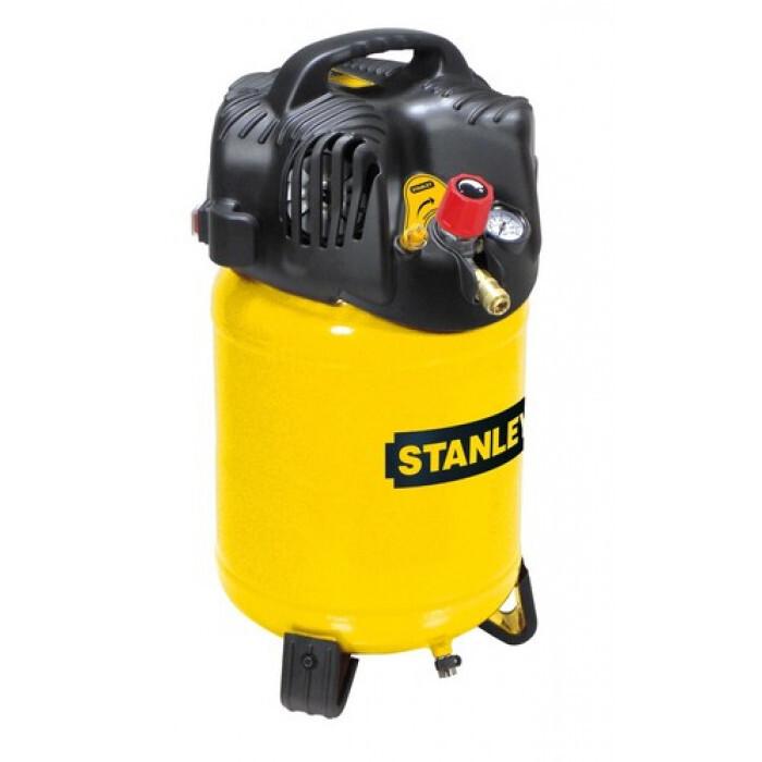 Безмаслен въздушен компресор Stanley D200/10/24V 24л 2 к.с.
