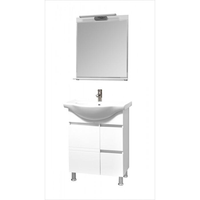 Долен шкаф за баня с умивалник Макена Бони