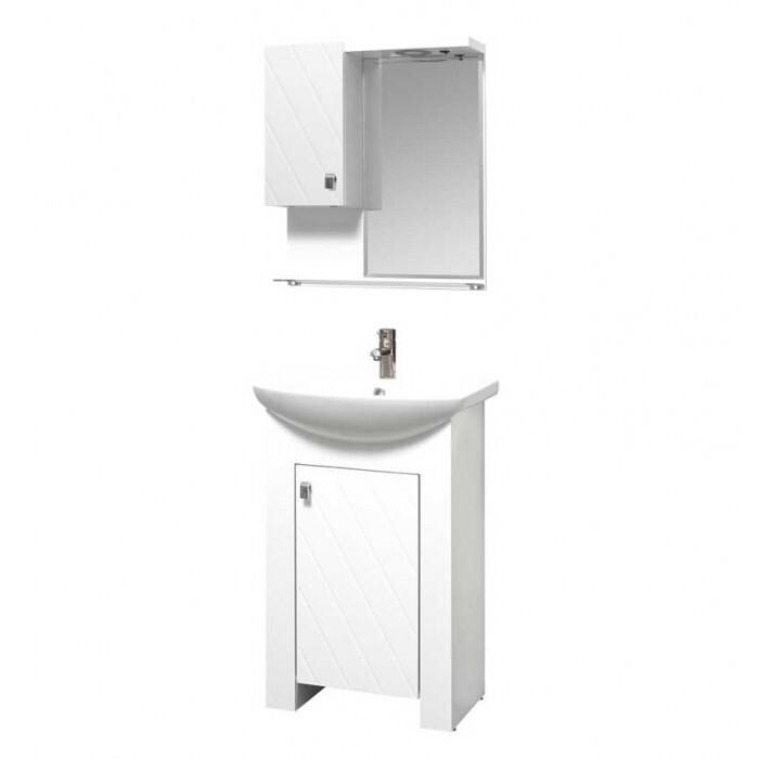 Горен шкаф за баня с огледало Коки Макена