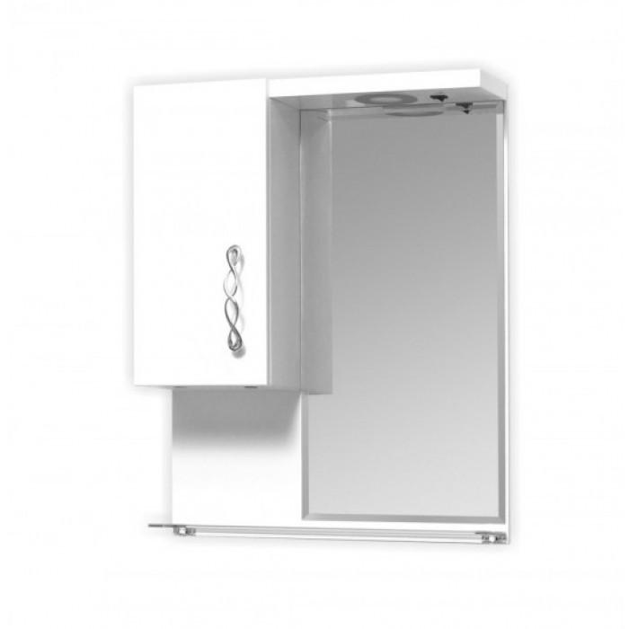 Горен шкаф за баня с огледало Макена Никол