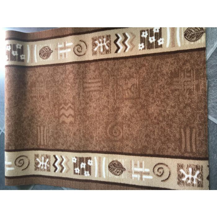 Печатана пътека 119-10-Beige/Brown 120см