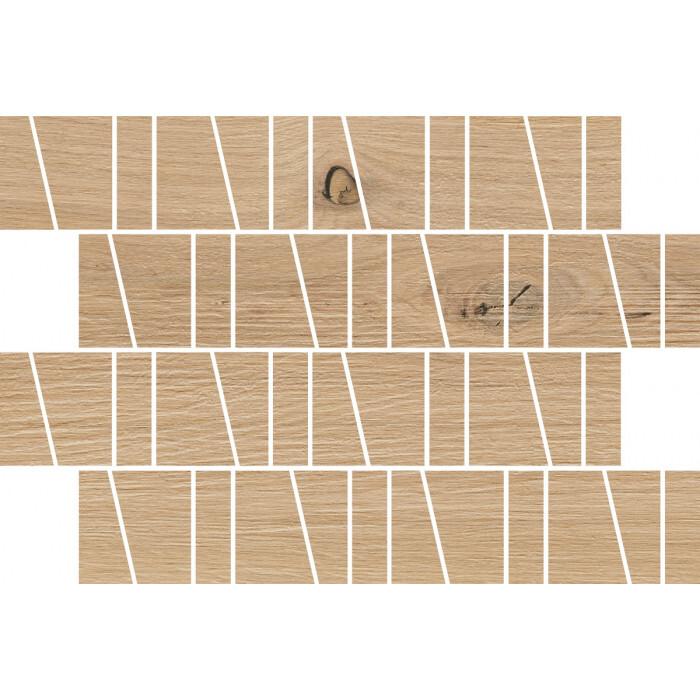 Декоративни плочки Kavir Sandwood Beige Trapeze Mosaic Matt 20х29,9