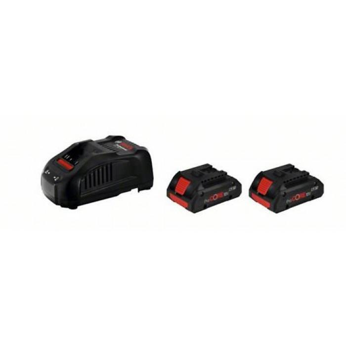 Бързо зарядно устройство Bosch GAL 1880 CV + 2 батерии ProCORE18V 4.0Ah
