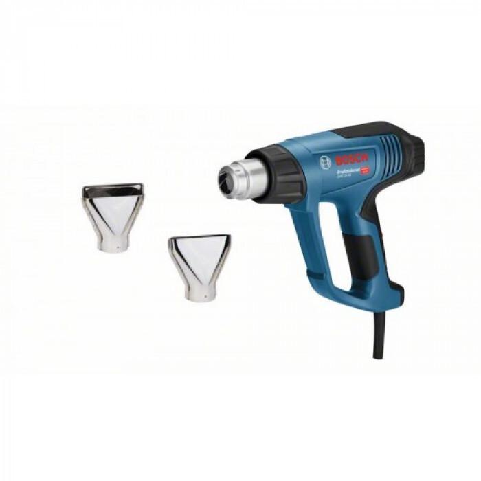 Пистолет за горещ въздух Bosch GHG 23-66 2300W + 2 дюзи