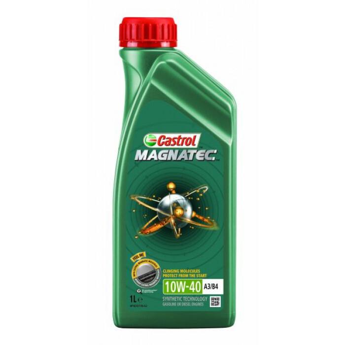 Двигателно масло Castrol Magnatec 10W-40 A3/B4 1L