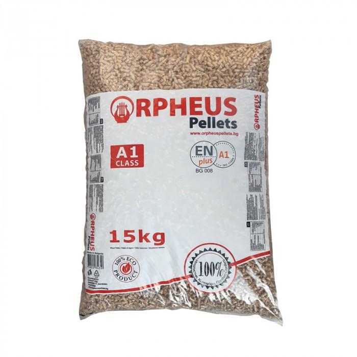 Дървесни пелети Orpheus Pellets 15 кг