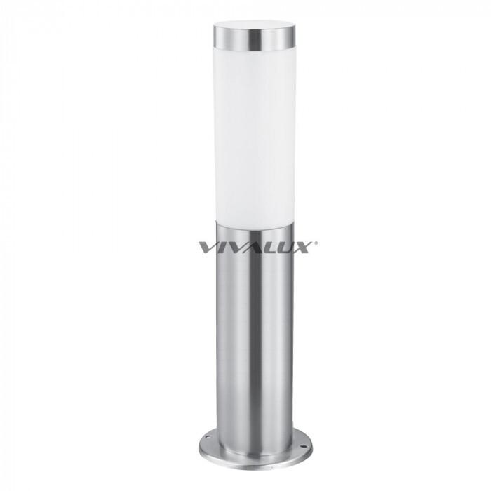 Градинска лампа Vivalux Tokyo/SS N/M никел мат E27