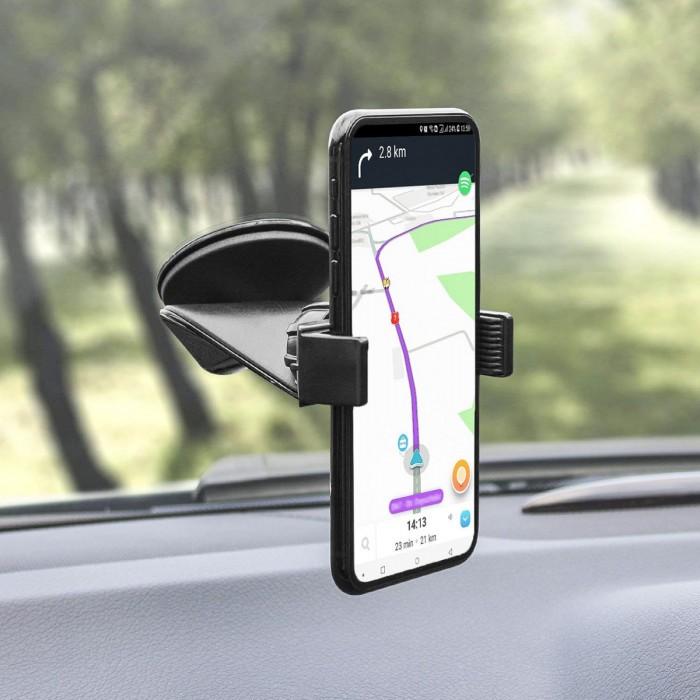 Въртяща се поставка за телефон с вендуза RoGroup