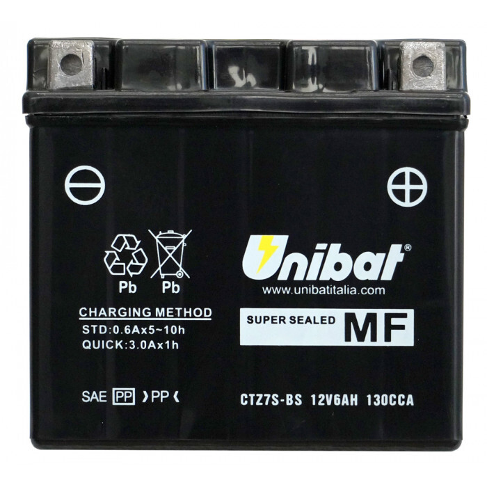 Мотоциклетен акумулатор Unibat CTZ7S-BS