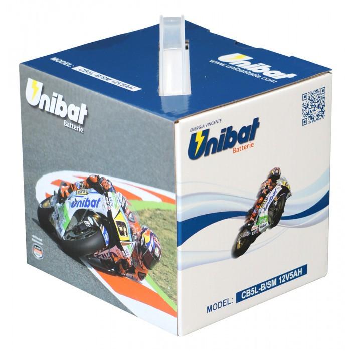 Мотоциклетен акумулатор Unibat CB5L-B