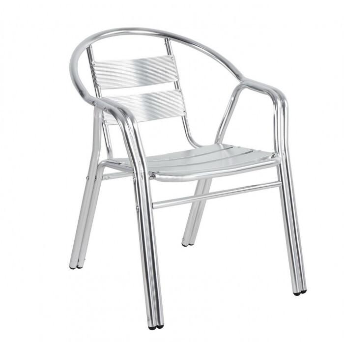 Алуминиев стол с двойни подлакътници SC-025 My Garden