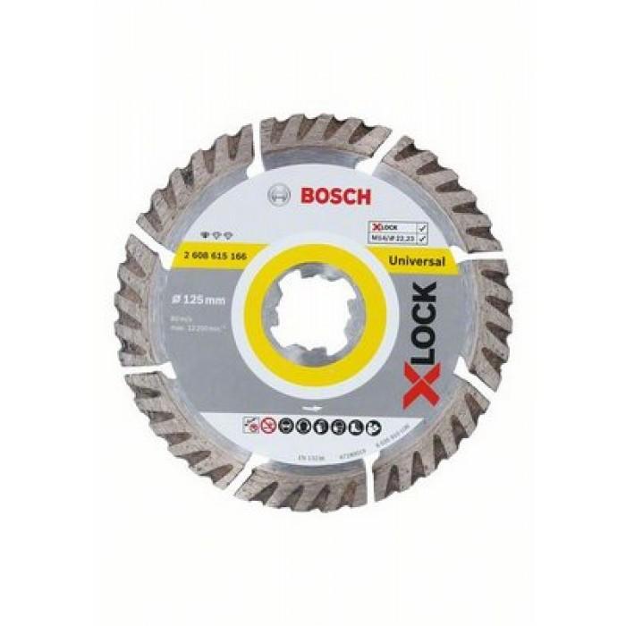 Диамантен диск Bosch X-Lock Standard for Universal 125x22,23x1,6x10mm