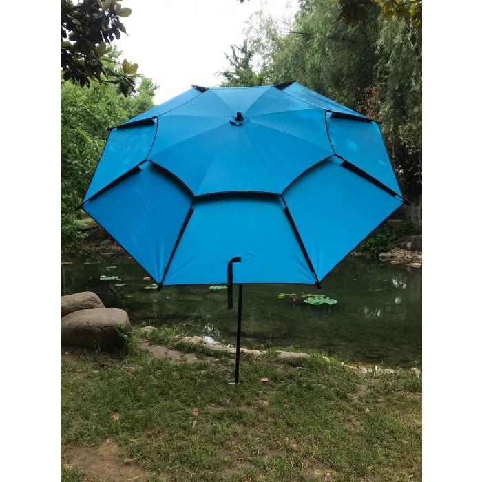 Рибарски чадър с алуминиево покритие WR-TC8024 / ø220см