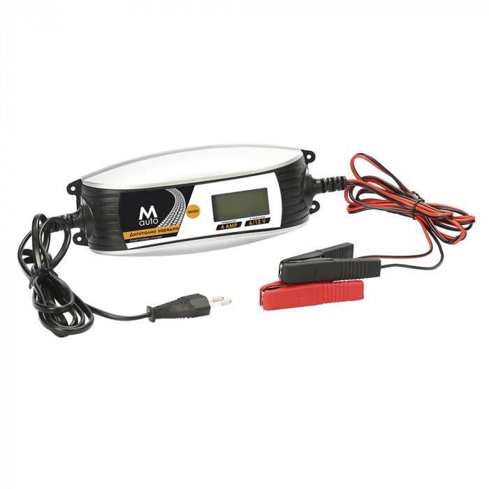 Дигитално зарядно устройство M Auto 6V/12V 2A/4A