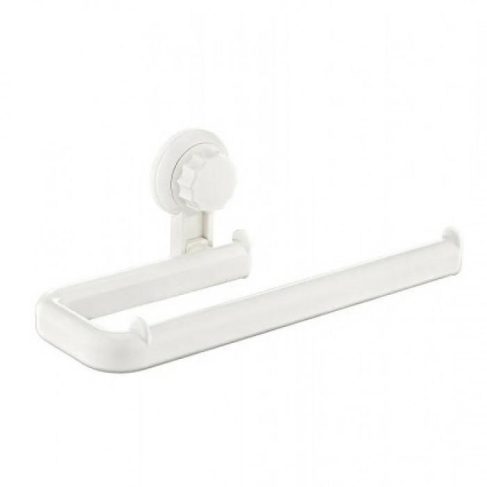 Голяма пластмасова поставка за тоалетна хартия Freehome OKY-686 бяла
