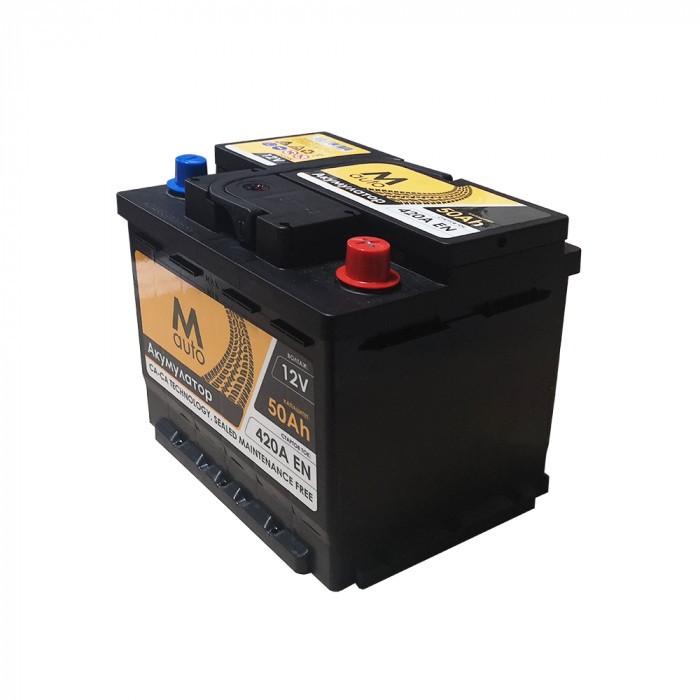 Стартерен акумулатор M Auto 50 Ah / 420A