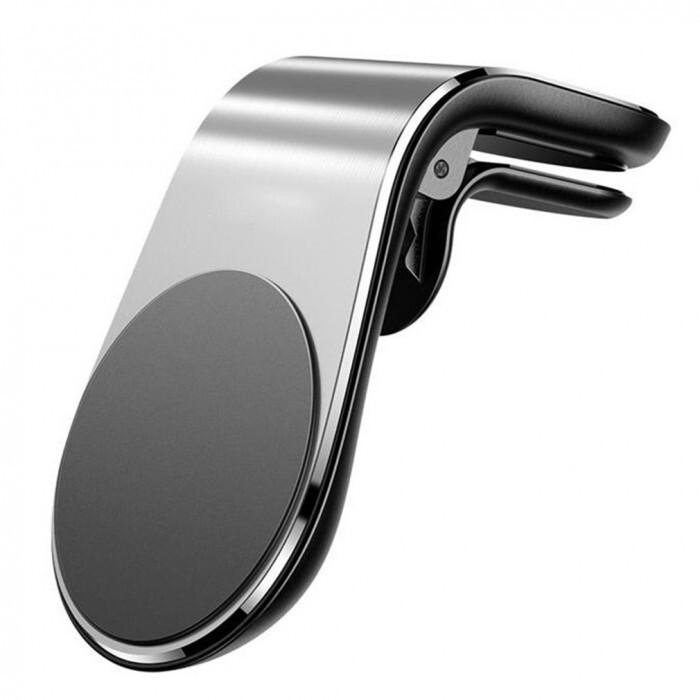 Магнитна стойка за телефон RoGroup сребро