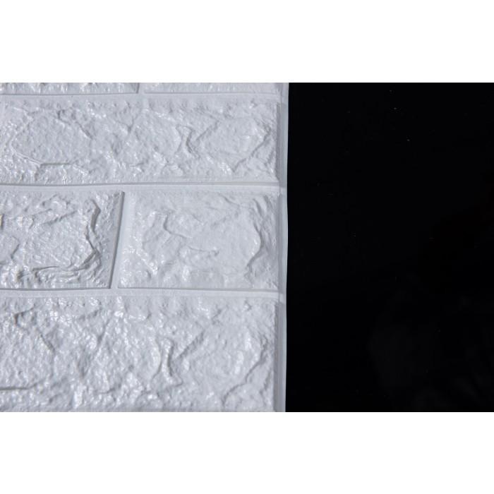 Топлоизолационно самозалепващо пано Classical Brick 70x77x0.8 сm Бяла тухла