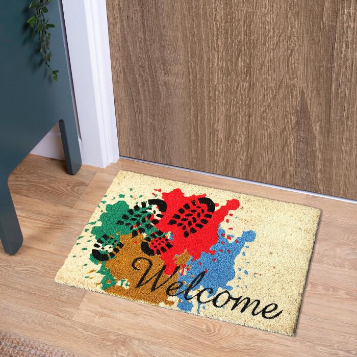 Изтривалка кокос Welcome Steps TP 11237 / 40х60см