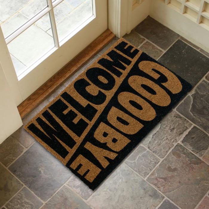 Изтривалка кокос Welcome/Goodbye TP 11251 / 40х60см