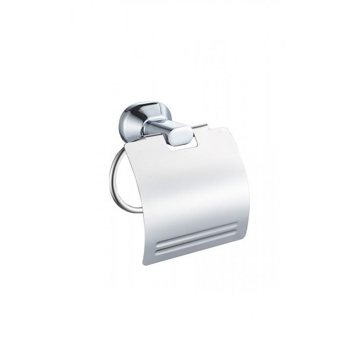 Поставка за тоалетна хартия с капак Makena Quad хром
