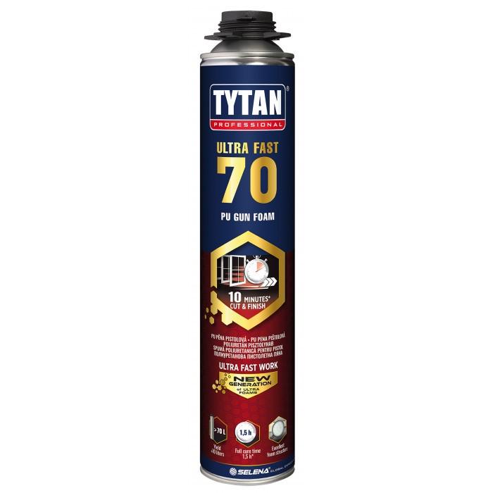 Бърза монтажна пяна Tytan Professional Ultra Fast 70