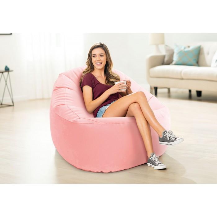 Надуваем стол Intex Beanless Bag 68590NP / 112х104х74см