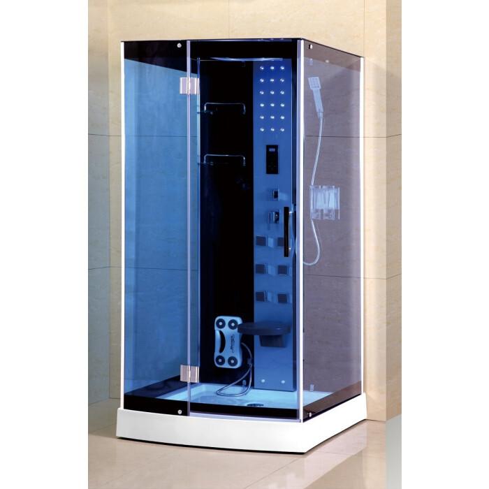 Хидромасажна душ кабина Cascada 2616 квадрат 90x90x215см