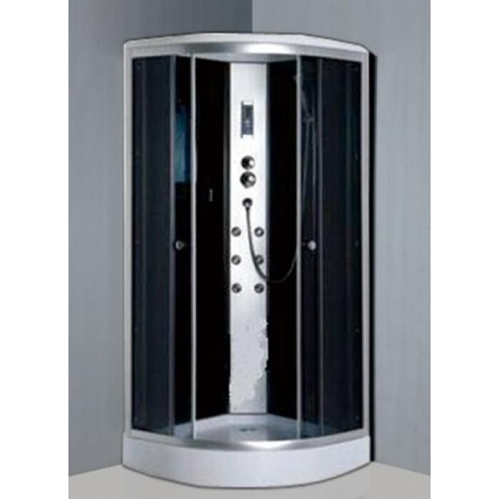 Хидромасажна душ кабина Cascada 2516 овал 90x90x210см