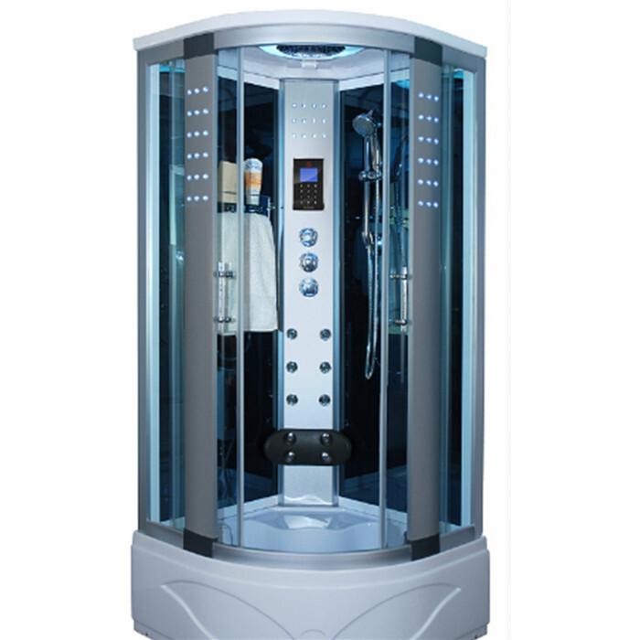 Хидромасажна душ кабина Cascada 8004AS овал 90x90x215см