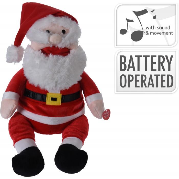 Музикален Дядо Коледа 389000050 / 34см