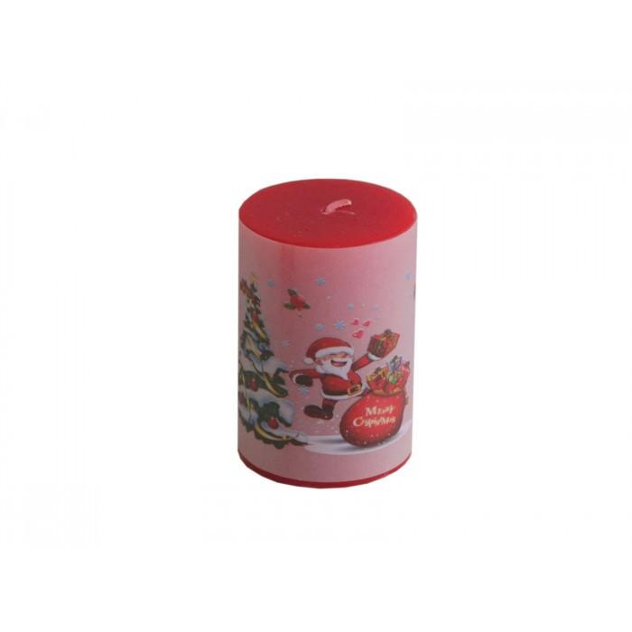 Коледна свещ Т13-136 / 7.5см / ф5
