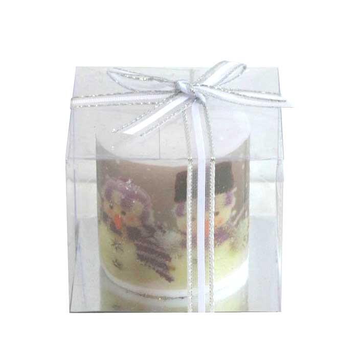 Коледна свещ в кутия Т13-133 / 6см