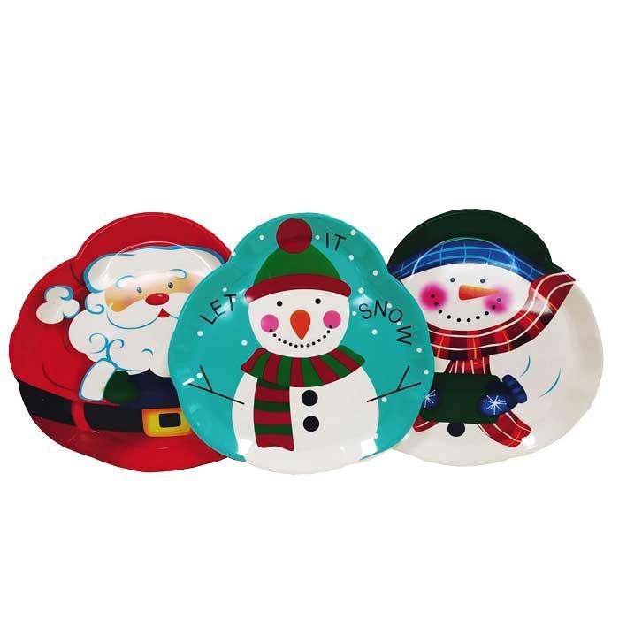 Коледна табла Дядо Коледа / Снежен човек Т26-94 / 35 см