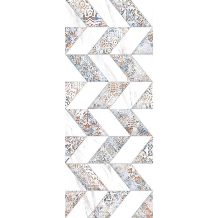 Стенни декоративни плочки IJ 200 х 500 Елада зиг заг бели