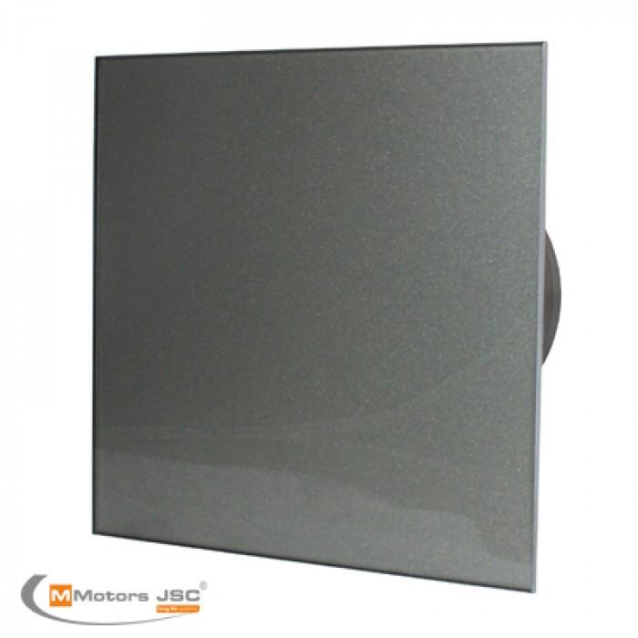 Квадратен вентилатор за баня ММР 100 06 графит 19W