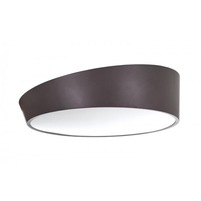 LED плафон EL 1708/28W CF кафяв 3000К/4000К/6000K