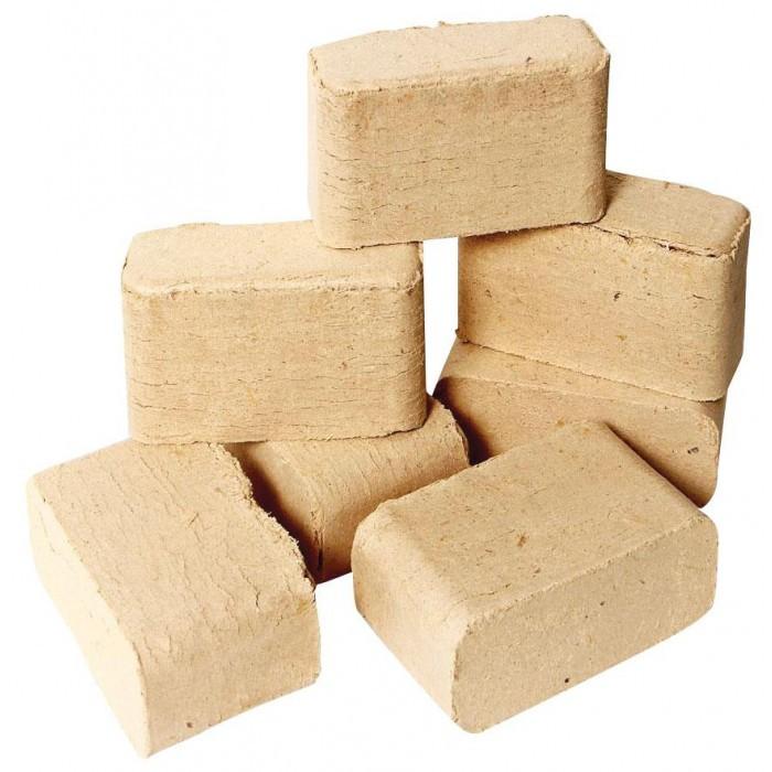 Екобрикети от широколистна дървесина Ruf Briquettes 10кг