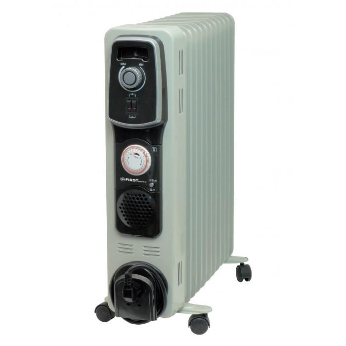 Маслен радиатор с 11 ребра First FA 5587-3 / 2400W