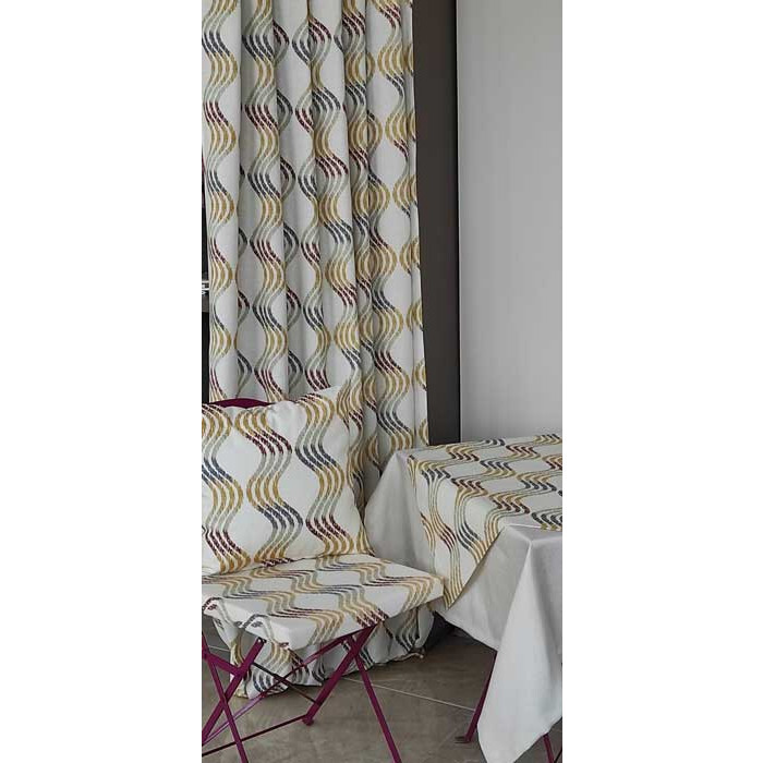 Декоративна възглавница с цип и пълнеж Инфинити 43х43см