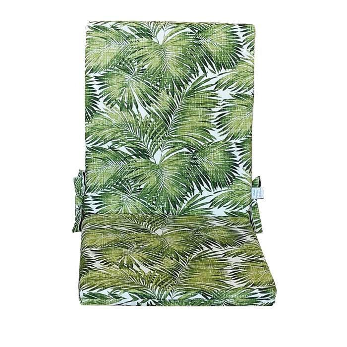 Възглавница за стол с цип Грийн Палм 43х90х4см