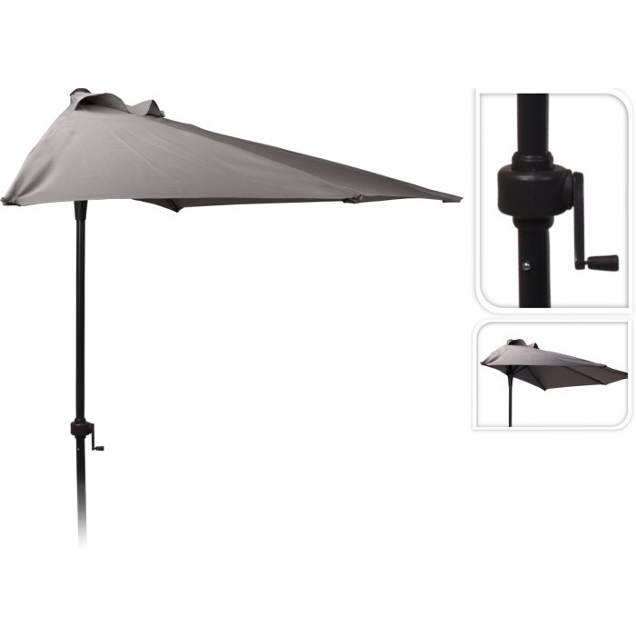 Чадър полукръг FC3000220 Dark Taupe 250см