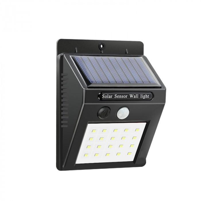 Соларен LED фенер с датчик за движение SP-6277