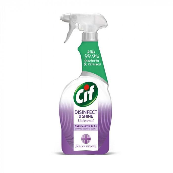 Дезинфектант Cif Disinfect Lila 750мл