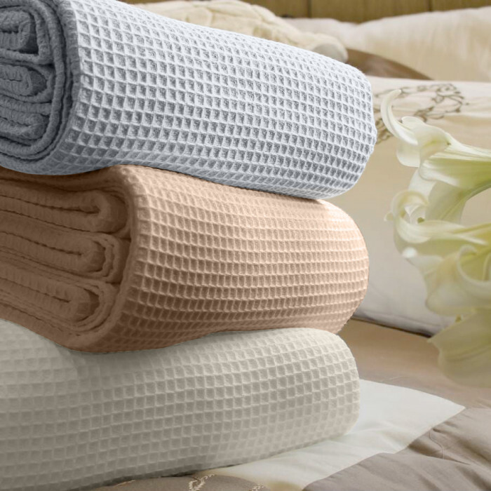 Покривка за легло Сиеста 220/230см пике Мик Мак