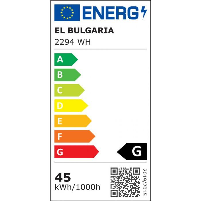 LED плафон EL 2294 WH бял